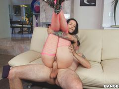 Katrina Jade dresses to dance, gets dick instead