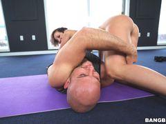 Jada Stevens does yoga for Ass Parade