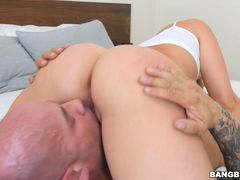 Horny Step Sister Ambushes Her Step Bro