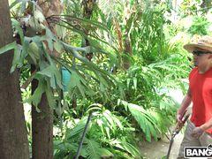 Gardener Fucks Valerie Kay