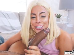 Bouncing A Huge Ass On Black Dick