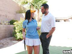 Rachel Starr Fucks Her Golf Instructor