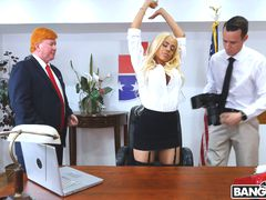 Luna's Visit to the Presidential Anal Office