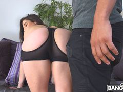 Taking A Huge Dick In Her Big Ass