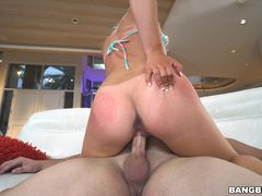 18 year old Alyssa Cole fucks her step brother