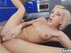 Tiffany Squirts on Her Step Brother's Cock