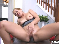 Super Long Cock For This 18yo Hottie