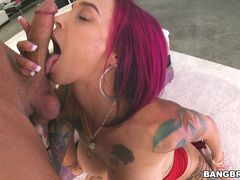 Hot Milf squirts all over the dick!