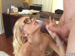 Sexy Secretary pays for her mistakes!
