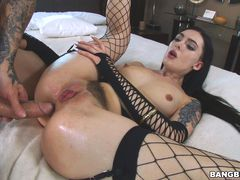 Marley Brinx Takes It In Every Hole