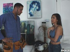 Nina North trades cable package for pussy