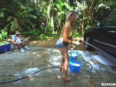 Backyard Carwash with Marsha May