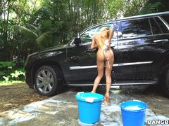 Backyard Carwash with Marsha May