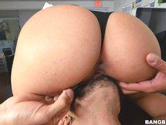 Mia Martinez office fuck and a bit of squirting