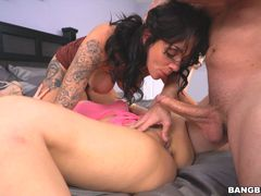 Harlow and Cristi Ann fuck great together