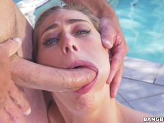 Carter Cruise plays strip horse to get fucked