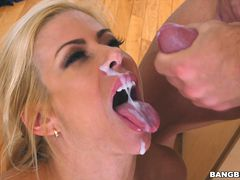 Alexis Fawx Squirts on Huge Cock