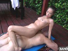 Hot Asian Nuru Masseuse Gets Fucked