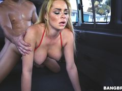 Skyla gets the ride of her life