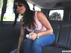 Jessi and her Bangin' Ride through Hialeah