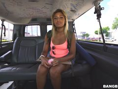 Allison doesn't get to Orlando riding the Bang Bus