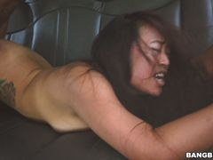 Sasha catches a ride and some cock