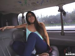 College Student Gets Stretched On The Bus