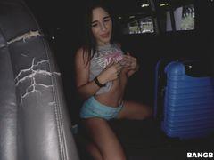 Abella Danger on The Bus
