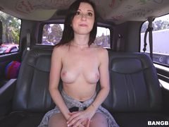 Petite cutie shows her wild side