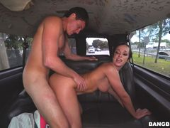 Jada Stevens Returns to the Bus