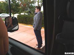 Jada Stevens Returns to the Bus