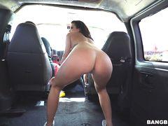 Keisha Hunts for Cock in the Bang Bus