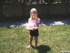 Kenzie's cake