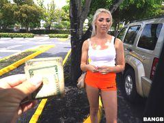 Blonde Dumped & Splashed
