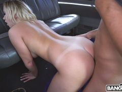 Reverse Bus With A Big Booty Blonde