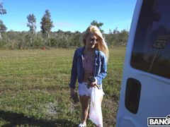 Everglade Adventure Leads To A Hot Blonde