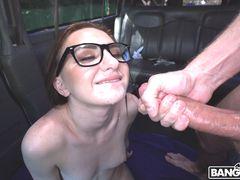 Hot Nerd Fucks on the Bus