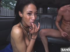 Good Ebony Pussy From This Bad Girlfriend