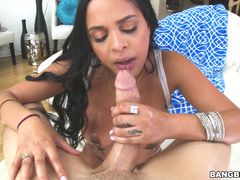 Kimberly Kendall takes a huge load in the ass!
