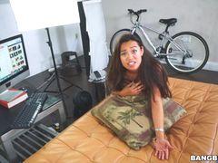 Fucking an Asian Webcam Girl