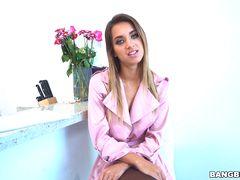 Uma Jolie shows off her sex skills to get the job