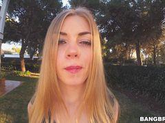 Big Russian Tits in Spain!