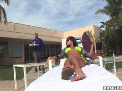 Stacy Jay's fun in the sun.