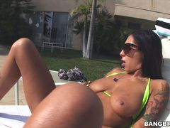 Stacy Jay's fun in the sun.