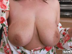 Big Tits Under the Table