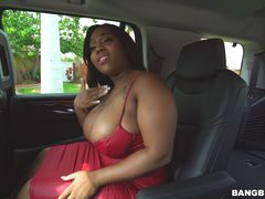 Lucky Driver Fucks His Busty Passenger