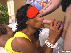 Ivy Young gets white dick surprise