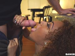 Naughty step sister Kendall Woods is hungry for cock