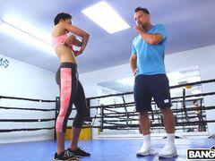 Boxing Training Led To Hot Sex