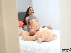 Julie Kay Rides Her Step-father's Giant Cock